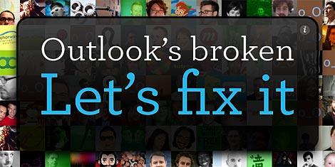 Outlook's Broken