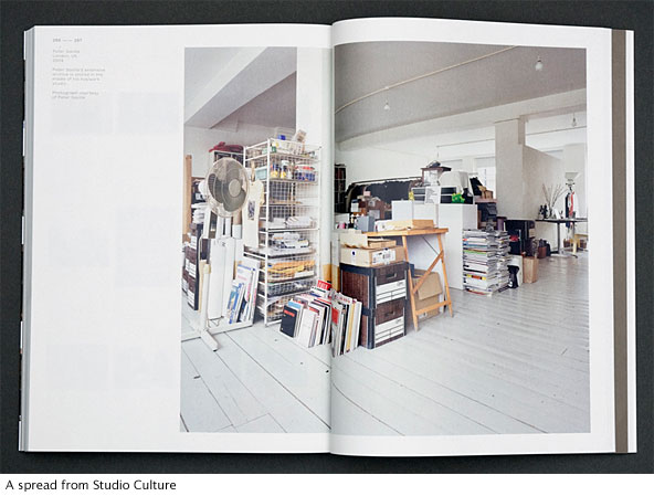 A spread from Unit Edition's Studio Culture