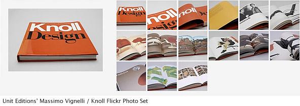 Unit Editions' Massimo Vignelli / Knoll Flickr Photo Set