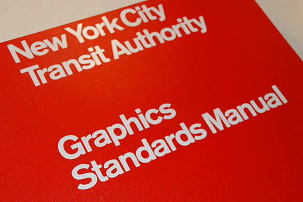 The New York City Transit Authority Graphic Standards Manual
