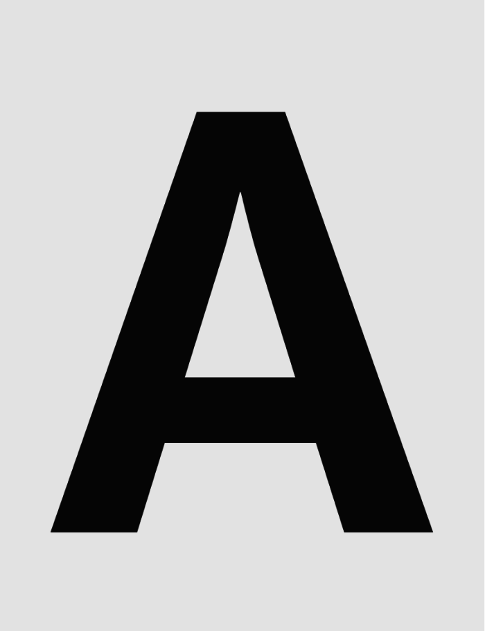 Neue-Hass-Grotesk-letter-A