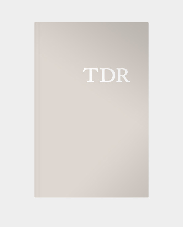 TDR – The Typographic Desk Reference, 2nd Ed. (Paperback)