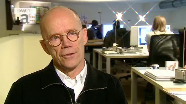 Erik Spiekermann on Deutsche Welle TV